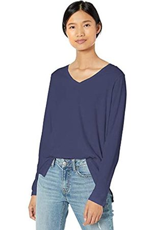 Goodthreads Washed Jersey Cotton Long-Sleeve V-Neck T-Shirt Fashion-t-Shirts