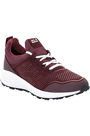 Jack Wolfskin Coogee WT Low W, Zapatillas para Mujer, (Burgundy/White 2816)