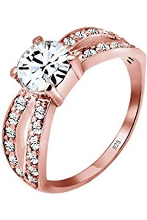 Elli Premium señorías-anillo Swarovski 925 cristal de oro brillantes Gr
