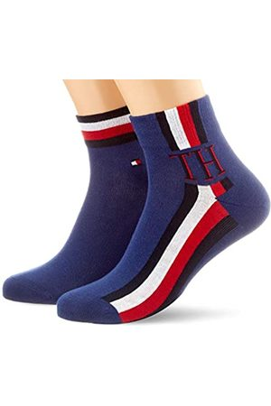Tommy Hilfiger TH Men Quarter 2p Iconic Stripe Calcetines