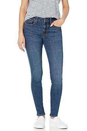 Goodthreads Mid-Rise Skinny Jeans, Resin Dark Fade