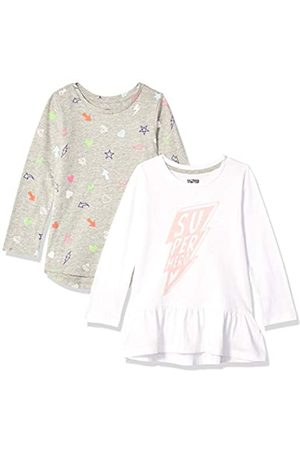 Spotted Zebra 2-Pack Long-Sleeve Tunic Tops Fashion-t-Shirts, XS