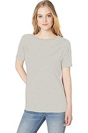 Daily Ritual Marca Amazon - : túnica de manga corta y algodón ligero con hombros caídos para mujer.