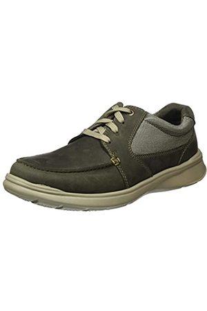 Clarks Cotrell Lane 261486528, Zapatos de Cordones Derby para Hombre, (Olive Combi Olive Combi)