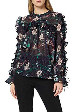 find. Blusa Estampada con Volantes para Mujer