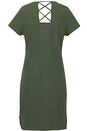 Marmot Wm's Josie Dress Vestido Largo con Mangas Cortas, protección UV, Transpirable, Secado rápido, Mujer