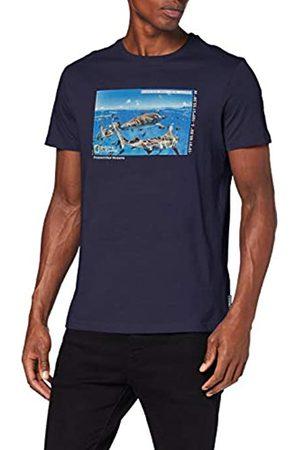 Springfield 01Li Nat.Geo. Manu Sharks Camiseta