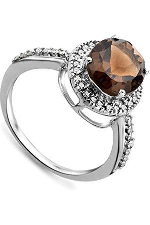 Miore JM038R6WM-Anillodemujerdeoroblanco(9k)con28diamantes(talla:12)