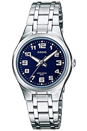 Casio Reloj analógico para Mujer de Cuarzo con Correa en Acero Inoxidable LTP-1310D-2BVEF