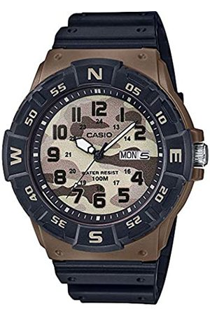 Casio Reloj Analógico para Hombre de Cuarzo con Correa en Resina MRW-220HCM-5BVEF