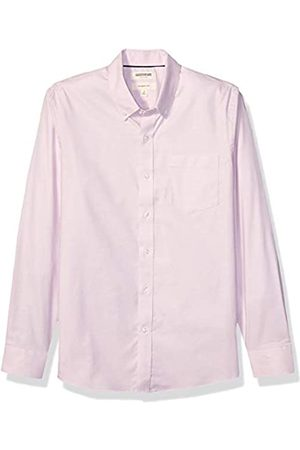 Goodthreads Slim-fit Long-Sleeve Stretch Oxford Shirt (All Hours) Camisa abotonada, rosa