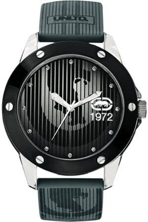 Ecko Unlimited Reloj Análogo clásico para Hombre de Cuarzo con Correa en Silicona E09520G4