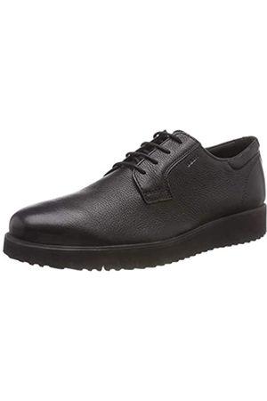 Geox U New Pluges E, Zapatos de Cordones Derby para Hombre, (Black C9999)