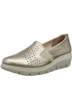 Stonefly Plume 3 Laminated LTH, Mocasines (Loafer) para Mujer, (Metal Fizz Z00)