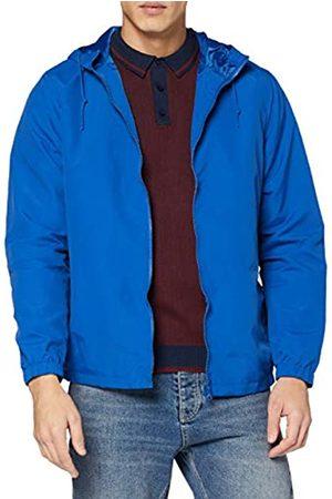 Jacamo Men's Blue Lightweight Hooded Jacket Chaqueta