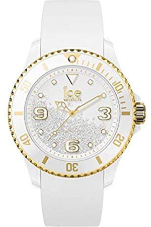 Ice-Watch ICE crystal White gold - Reloj para Mujer con Correa de silicona