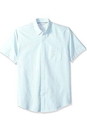 Amazon Essentials – Camisa Oxford de manga corta de corte recto para hombre