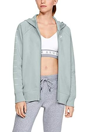 Under Armour Rival Fleece Sportstyle LC Sleeve Graphic Sudadera con Capucha, Mujer