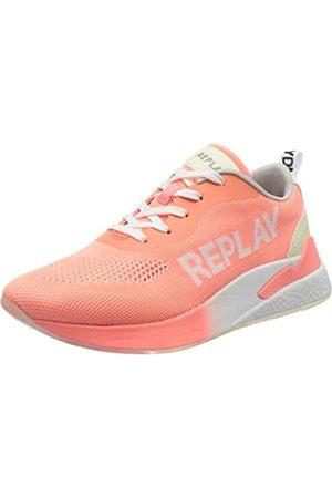 Replay Maze-Botanic, Zapatillas para Mujer, (Coral 494)
