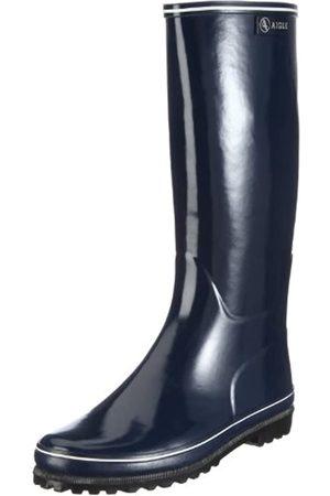 Aigle VENISE MARINE/BLANC 24512 - Botas de agua de caucho para mujer