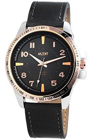Akzent Hombre Relojes - Reloj analógico para Hombre de Cuarzo con Correa en Varios Materiales SS7541500010
