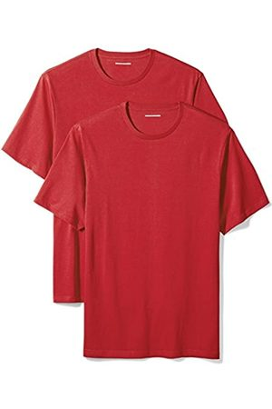 Amazon 2-Pack Regular-Fit Short-Sleeve Crewneck T-Shirts Camiseta