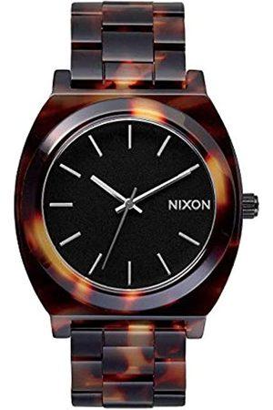 Nixon Time Teller Acetate - Reloj (Reloj de Pulsera, Masculino, Acero Inoxidable, , Naranja, Acero Inoxidable