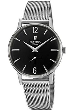 Festina Reloj Análogo clásico para Hombre de Cuarzo con Correa en Acero Inoxidable F20252/4