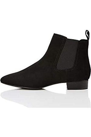 FIND Simple Botas Chelsea, Black