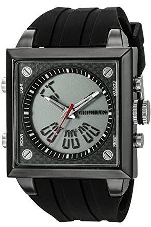 CEPHEUS CP900-622A - Reloj analógico y Digital de Cuarzo para Hombre con Correa de Silicona