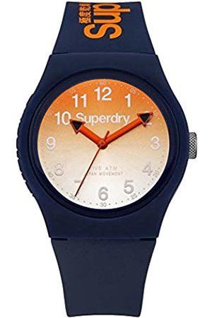 Superdry Reloj Analógico de Cuarzo para Hombre con Correa de Silicona – SYG198UO