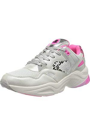 Dockers by Gerli 45sp202-687596, Zapatillas para Mujer, (Weiß/Neon Pink 596)