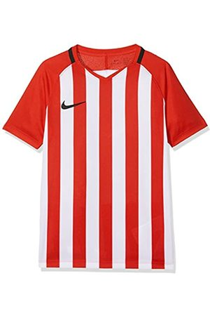 Nike Kids' Striped Division III Football Jersey Camiseta de Manga Corta, Unisex niños