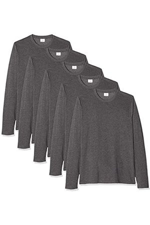 KUSTOM KIT Fashion Fit Long Sleeve Superwash 5 Pack Camisa Manga Larga