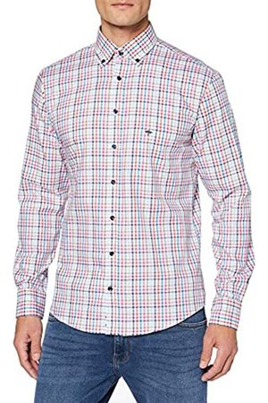 Fynch-Hatton Summer Combi Check Shirt, 1/1 Sleeve Camisa Casual