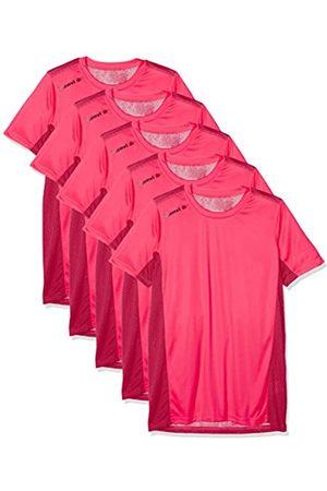 Luanvi Nocaut Plus CRO Pack de 5 Camisetas, Hombre