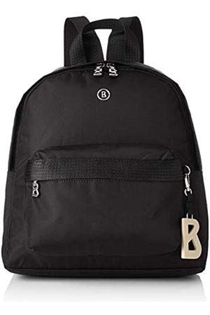 Bogner Verbier Anka Backpack MvzMujerMochilasNegro (Black) 12x33x27 centimeters (W x H x L)