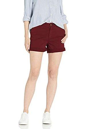 Goodthreads Chino Girlfriend Short Shorts, Bordeaux