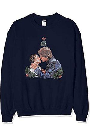 STAR WARS Men's Christmas Mistletoe Kiss Sweatshirt Sudadera