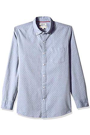 Goodthreads Marca Amazon - : camiseta de seda labrada de manga larga y ajuste estándar para hombre
