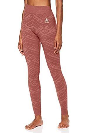 Kinship Warm Odlo Bl Bottom Long Natural Pantalon Mujer