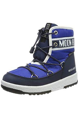 Moon-boot Jr Boy Mid WP, Botas de Nieve para Niños, (BLU 002)