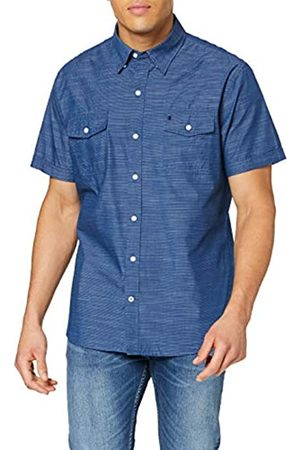 Izod Washed Dobby Stripe SS Shirt Camisa