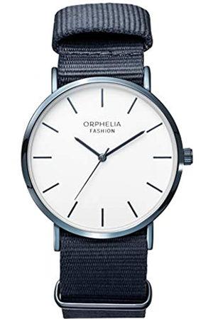 ORPHELIA Fashion Reloj de Pulsera para Hombre Analógico Ludus Con correa de nylon