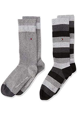 Tommy Hilfiger TH Kids Basic Stripe Sock Pack de 2 Calcetines para Niños