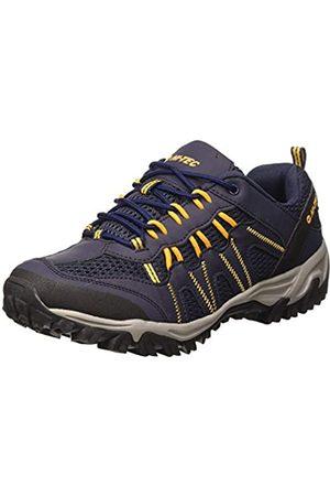 Hi-Tec Jaguar, Zapatillas de Senderismo para Hombre, (Navy/Yellow 31)