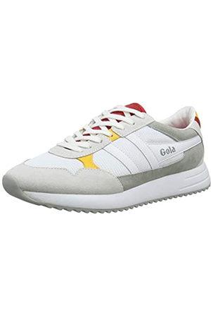 Gola Cma559, Zapatillas para Hombre, (White/Red/Sun WR)