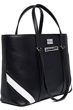 REPLAY Mujer Bolsos de mano - Fw3922.000.a0363bMujerBolso de manoNegro (Black) 13x28x37 centimeters (B x H x T)