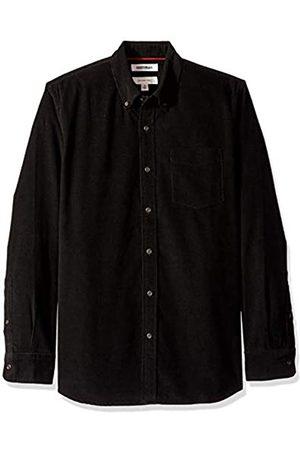 Goodthreads Marca Amazon – – Camisa de pana de manga larga de corte entallado para hombre