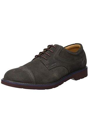 Geox U Garret A, Zapatos de Cordones Derby para Hombre, (Mud C6372)